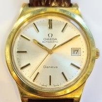 Omega Genève 36mm Silver (solid) No numerals