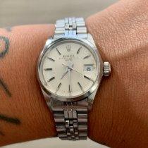 Rolex Oyster Perpetual Lady Date Acier 26mm Argent Sans chiffres France, Paris