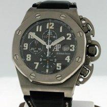 Audemars Piguet Royal Oak Offshore Chronograph Титан 48mm Черный Aрабские