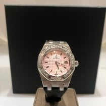 Audemars Piguet Royal Oak Lady Staal Roze