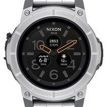 Nixon 塑料 48mm NIXON Mission SS - Silver - A1216 30-00 Smartwatch 新的
