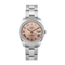 Rolex Lady-Datejust Acero 31mm Rosa Romanos