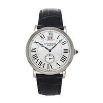 Cartier Rotonde de Cartier White gold 42mm Silver Roman numerals United States of America, Pennsylvania, Bala Cynwyd