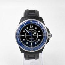 Chanel J12 Steel 39mm Blue
