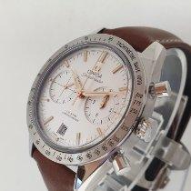 Omega Speedmaster '57 occasion 41.5mm Argent Chronographe Date Tachymètre Cuir