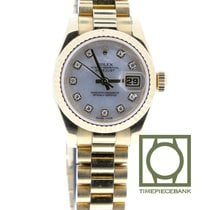 Rolex Oro amarillo Automático Madreperla 26mm usados Lady-Datejust