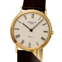 Patek Philippe Calatrava Yellow gold 34mm White Roman numerals
