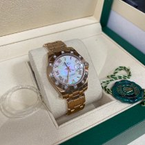 Rolex Lady-Datejust Pearlmaster Rose gold 34mm Mother of pearl Roman numerals