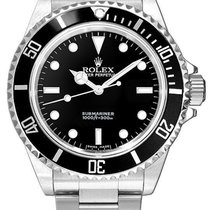 Rolex Submariner (No Date) Otel 40mm Negru