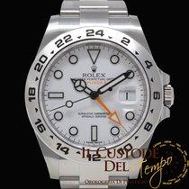 Rolex Explorer II Acciaio 42mm Bianco Senza numeri Italia, Terni