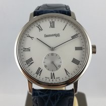 Eberhard & Co. White gold Manual winding White Roman numerals 37mm pre-owned
