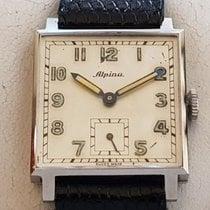 Alpina Acier 25.6mm Remontage manuel Vintage Alpina in Edelstahl, Handaufzug - Cal. 586 - NOS nouveau