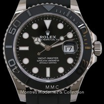 Rolex Yacht-Master 42 Or blanc 42mm Noir France, Paris