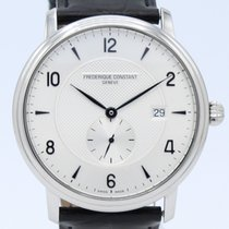 Frederique Constant Classics Automatic Steel 41mm Grey Arabic numerals