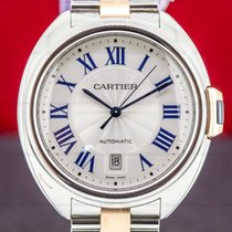 Cartier Clé de Cartier Gold/Steel 40mm Silver Roman numerals United States of America, Massachusetts, Boston