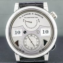 A. Lange & Söhne Zeitwerk Platinum 44.2mm Silver United States of America, Massachusetts, Boston