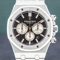 Audemars Piguet Royal Oak Chronograph Сталь 41mm Чёрный Aрабские