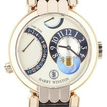 Harry Winston Rose gold Automatic 39mm pre-owned Premier