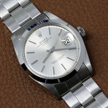 Rolex Oyster Perpetual Date occasion 34mm Argent Date Acier