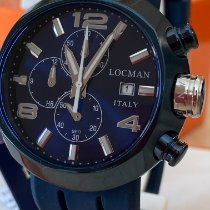 Locman Change One Zeljezo 46mm Plav-modar Arapski brojevi