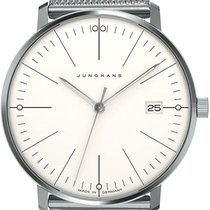 Junghans max bill Ladies Steel White