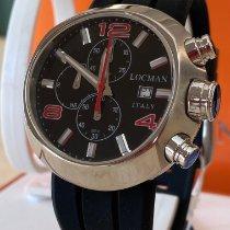 Locman Change One Zeljezo 46mm Crn Arapski brojevi