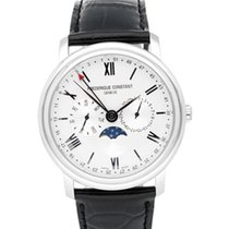 Frederique Constant FC-270SW4P6 Steel Classics Business Timer 40mm new