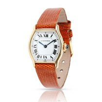 Cartier Tortue Yellow gold 21mm White Roman numerals United States of America, New York, New York