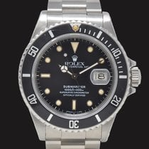 Rolex Submariner Date 16800 1986 pre-owned
