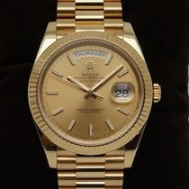 Rolex Day-Date 40 Gelbgold 40mm Gold Deutschland, Düsseldorf