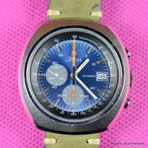 Lemania pre-owned Automatic 44mm Mineral Glass Not water resistant