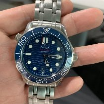 Omega pre-owned Automatic 42mm Blue Sapphire crystal 30 ATM