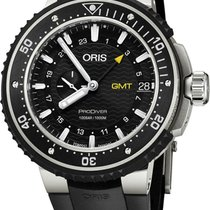 Oris ProDiver GMT new Automatic Watch with original box 74877487154RS