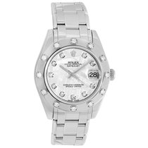 Rolex Lady-Datejust Pearlmaster White gold 34mm Canada, Vancouver