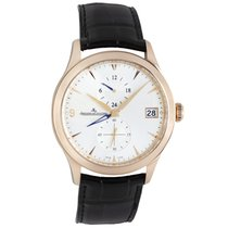 Jaeger-LeCoultre Master Hometime Rose gold 40mm Silver
