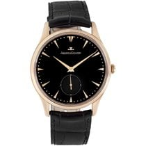 Jaeger-LeCoultre Master Grande Ultra Thin Rose gold 40mm Black