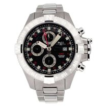 Ball Engineer Hydrocarbon GMT Acero 45mm Negro