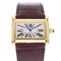 Cartier Tank Divan Yellow gold 32mm Silver United States of America, Georgia, Atlanta