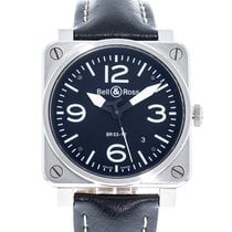 Bell & Ross BR 03-92 Steel Steel 42mm Black United States of America, Georgia, Atlanta