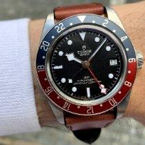 Tudor Black Bay GMT Acél 41mm Fekete Számjegyek nélkül