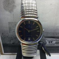 Edox Acero Cuarzo Azul 34mm nuevo