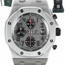 Audemars Piguet Royal Oak Offshore Chronograph pre-owned 42mm Grey Chronograph Date Titanium