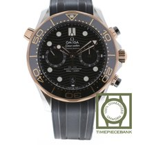 Omega 210.22.44.51.01.001 Gold/Steel 2021 Seamaster Diver 300 M 44mm new