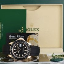 Rolex Black 40mm pre-owned Yacht-Master 40