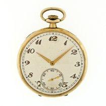 Cortébert Reloj usados Oro amarillo 44.4mm Arábigos Cuerda manual Solo el reloj
