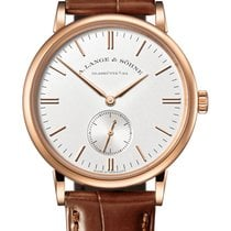 A. Lange & Söhne Saxonia Rose gold 35mm Silver United States of America, Florida, Sunny Isles Beach