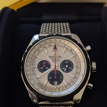 Breitling Chrono-Matic 49 Steel 49mm Silver No numerals