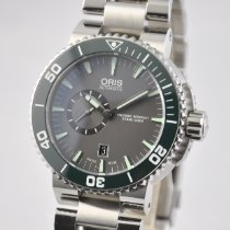 Oris Aquis Small Second Steel 46mm Grey United States of America, Ohio, Mason