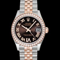Rolex Lady-Datejust Steel 31mm Brown United States of America, California, Burlingame