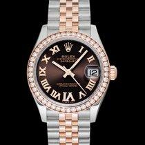 Rolex Lady-Datejust 278381RBR Новые Сталь 31mm Автоподзавод